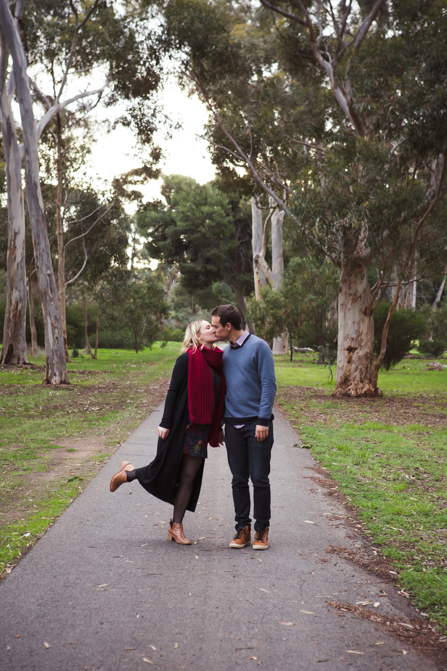 Penny + Joel | South Parklands Engagement Session